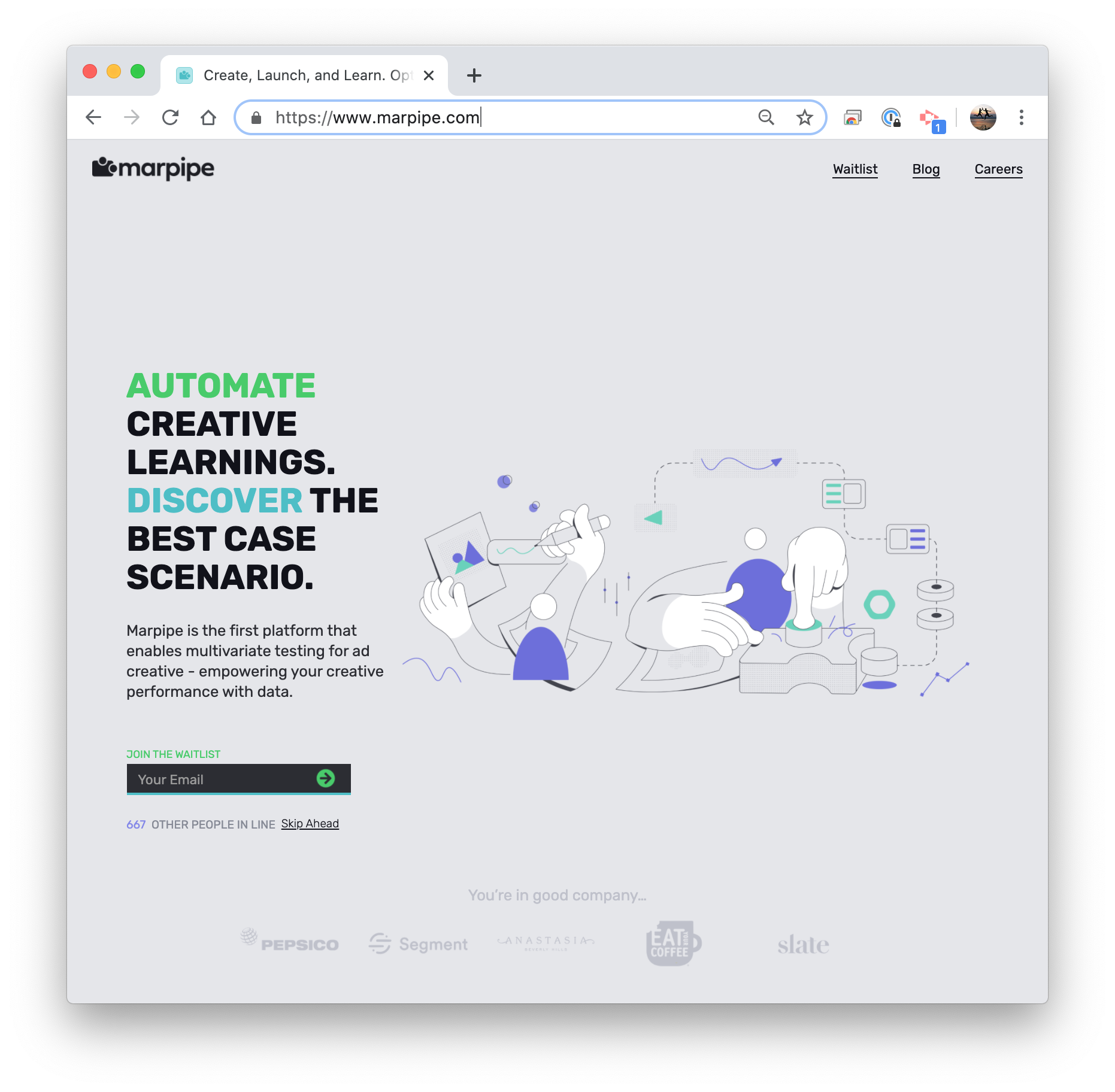 How Marpipe leveraged content to get over 500 beta users for their pre-launch product in under 2 months.
